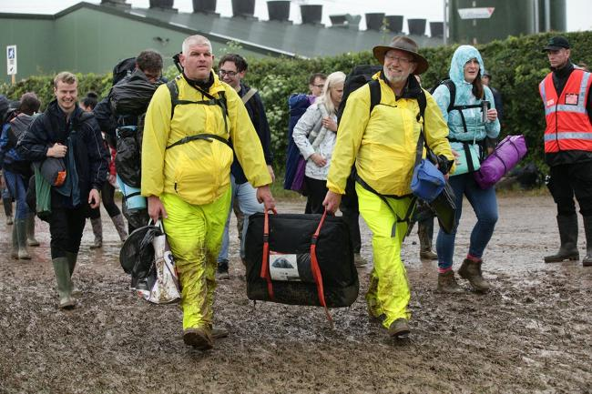 Glastonbury 2016 - Day 2 in pictures