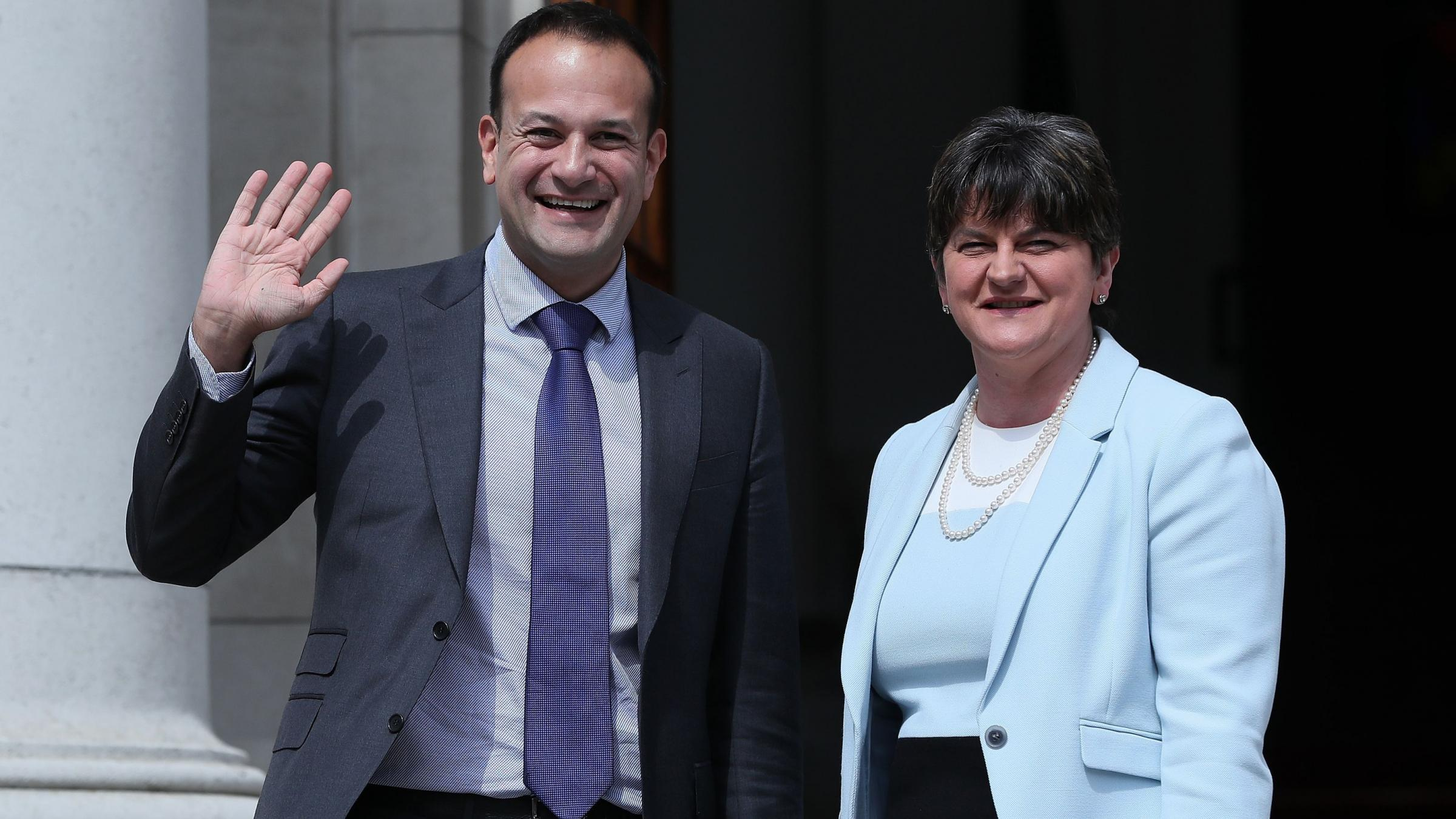 Theresa May 'reassures' Irish PM on DUP deal